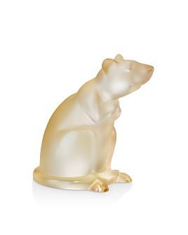 Lalique - Rat Sculpture