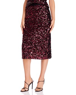 Rebecca Taylor - Sequined Midi Skirt