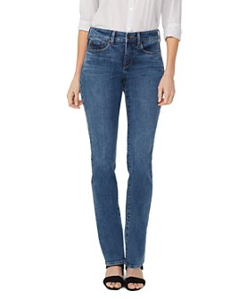 NYDJ - Marilyn Straight Jeans in Presidio