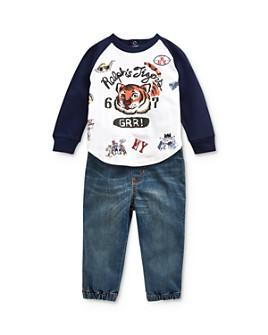 Ralph Lauren - Boys' Tiger Tee & Denim Joggers Set - Baby