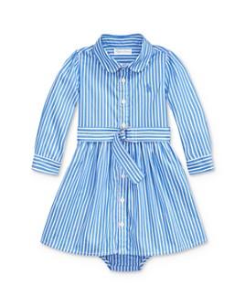 Ralph Lauren - Girls' Belted Shirt Dress & Bloomers Set - Baby