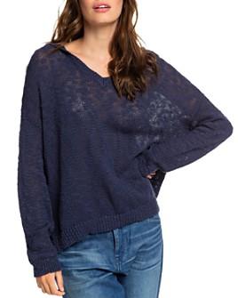 Roxy - Sandy Bay Beach Hooded Sweater