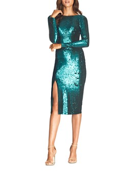 Dress the Population - Natalie Sequin Sheath Dress