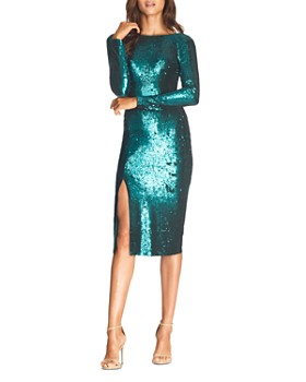 Dress the Population - Natalie Sequin Sheath Dress