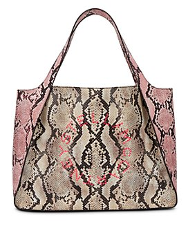 Stella McCartney - Medium Snake-Print Tote