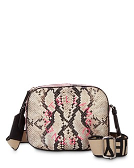 Stella McCartney - Mini Snake-Print Camera Crossbody