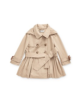 Ralph Lauren - Girls' Hooded Trench Coat - Baby