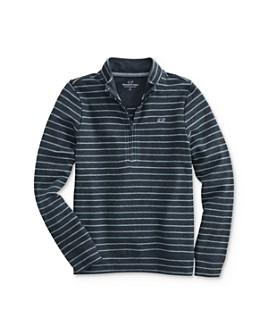 Vineyard Vines -  Boys' Striped Half-Zip Sweatshirt - Little Kid, Big Kid