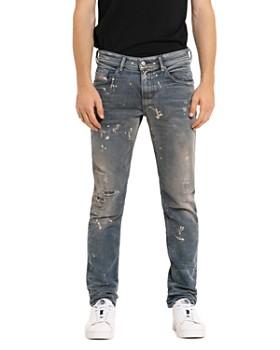 Diesel - Thommer-T Slim Fit Sweat Jeans in Denim