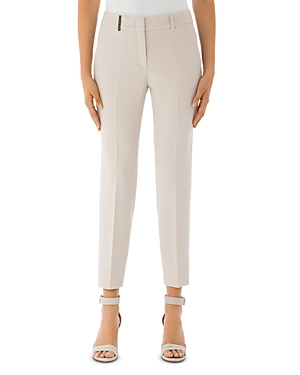 Peserico Ankle-Length Stretch Chino Pants-Women