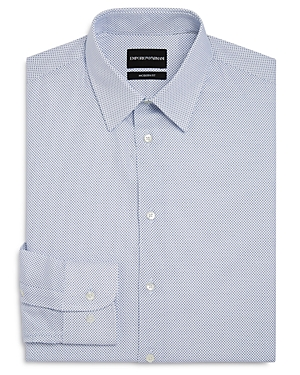 Micro-Dash Regular Fit Dress Shirt