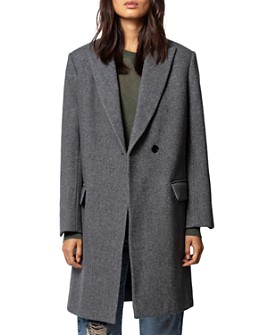 Zadig & Voltaire - Macy Tweed Wool Coat