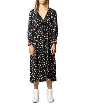Zadig & Voltaire - Reacty Ruffled Floral Midi Dress