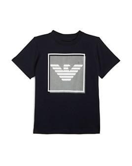 Armani - Boys' Eagle-Logo Tee - Little Kid, Big Kid