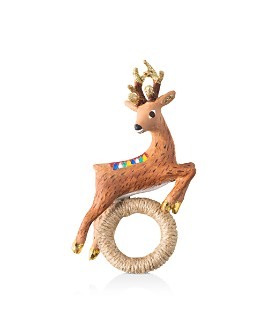 Juliska - Reindeer Napkin Ring, Set of 4