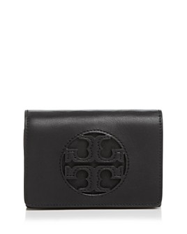Tory Burch - Miller Medium Leather Flap Wallet