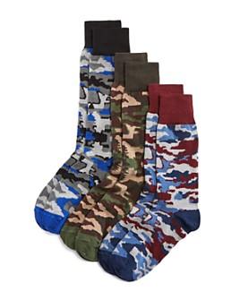 The Men's Store at Bloomingdale's - Camo-Print Socks Gift Set - Box of 3 - 100% Exclusive