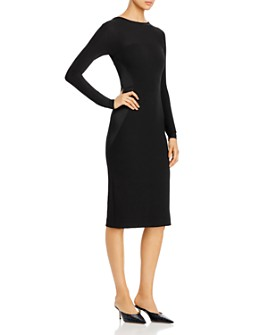 Donna Karan - V-Back Midi Dress