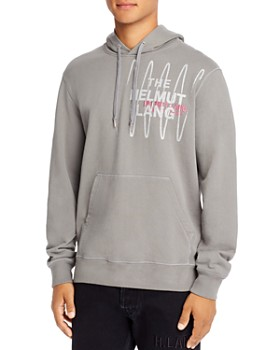 Helmut Lang - Graphic Logo Hooded Sweatshirt