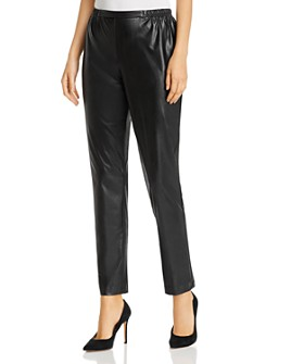 Caroline Rose - Faux-Leather Skinny Pants