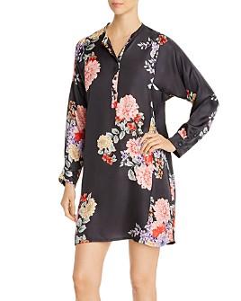 Johnny Was - Edine Floral Silk Tunic Dress