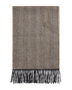 The Men's Store at Bloomingdale's - Cashmere Herringbone Scarf - 100% Exclusive