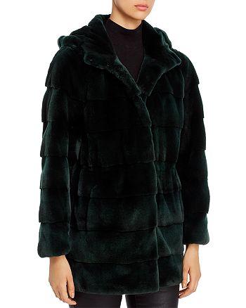 Maximilian Furs - Plucked Mink Fur Coat - 100% Exclusive
