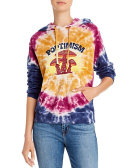 MOTHER - The Square Tie-Dye Hooded Sweatshirt