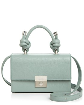 Behno - Mary Mini Pebbled Leather Crossbody