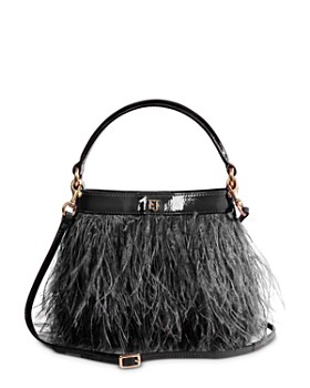 Eric Javits - Shindig Ostrich Feather Small Crossbody Bag