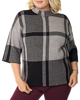 Belldini Plus - Plaid Sweater