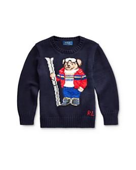 Ralph Lauren - Boys' Ski Bear Sweater - Little Kid