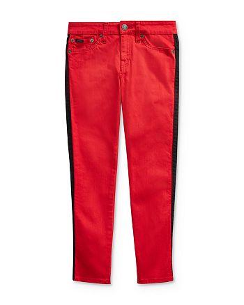 Ralph Lauren - Girls' Tompkins Striped Skinny Jeans - Big Kid