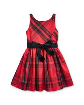 Ralph Lauren - Girls' Plaid Taffeta Dress - Little Kid