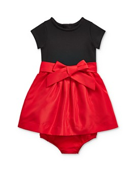 Ralph Lauren - Girls' Mixed-Media Dress & Bloomers Set - Baby