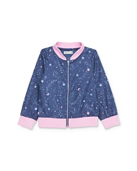 Mini Series - Girls' Mina Galaxy Print Bomber Jacket, Little Kid - 100% Exclusive