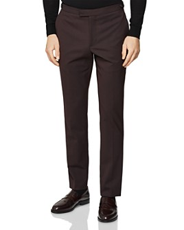 REISS - Malbec Twill Slim Fit Pants