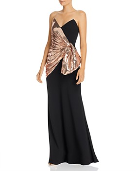Jill Jill Stuart - Sequin Bow Gown