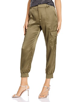 AQUA - Satin Cargo Pants - 100% Exclusive