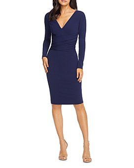 Dress the Population - Drew Long Sleeve Dress