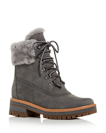 Timberland - Women's Courmayeur Valley Shearling  Waterproof Cold-Weather Boots