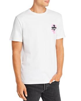 A.P.C. - x Brain Dead Dusty Graphic Logo Tee