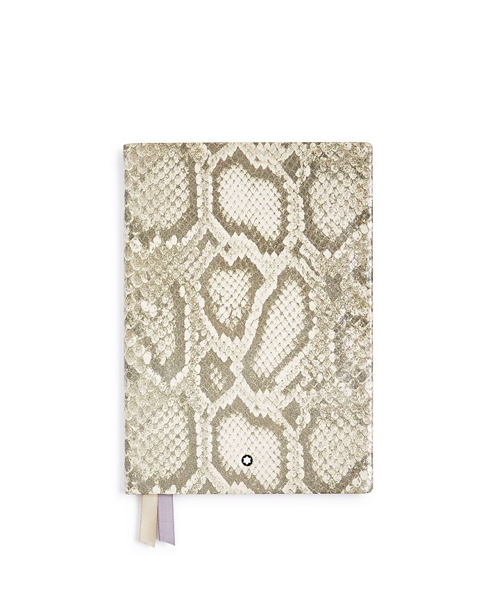 Montblanc - #146 Python-Print Leather Lined Notebook