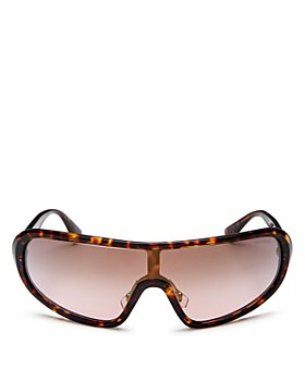 Miu Miu - Women's Shield Sunglasses, 156mm