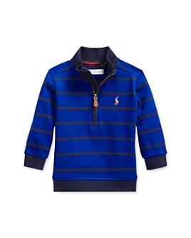 Ralph Lauren - Boys' Striped Half-Zip Sweatshirt - Baby
