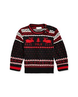 Ralph Lauren - Boys' Reindeer Sweater - Baby