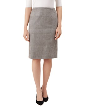 HOBBS LONDON - Sharon Glen Plaid Pencil Skirt - 100% Exclusive
