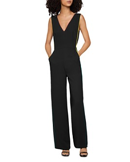 BCBGENERATION - Piped Wide-Leg Jumpsuit