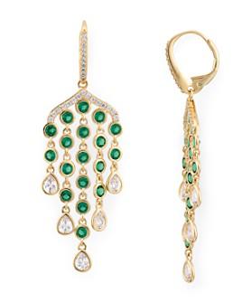 Nadri - Astor Fringe Drop Earrings
