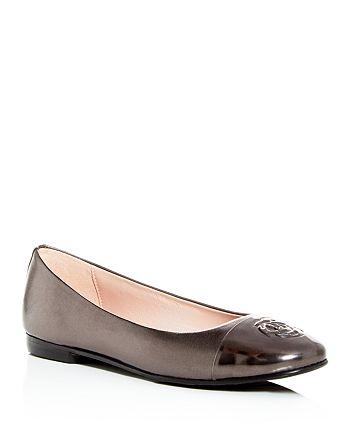 Taryn Rose - Women's Adrianna Cap-Toe Ballet Flats